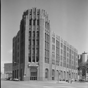 The Albert Khan-designed Detroit Times building opened in 1929 and lends its name to Times Square...